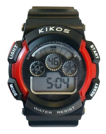Relógio Rk01 Vermelho - Kikos