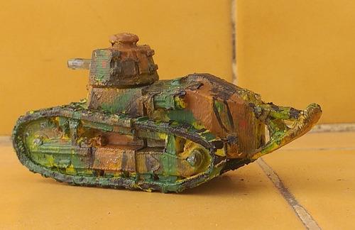 Para Soldados Tanque Francés Renault  Ft - Aitor-3 D - 1:72