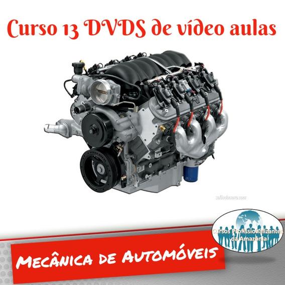 Curso Mecânica Automotiva 13 Dvds + Brindes Z17