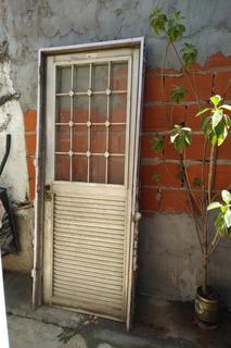 Puerta Aluminio Usada