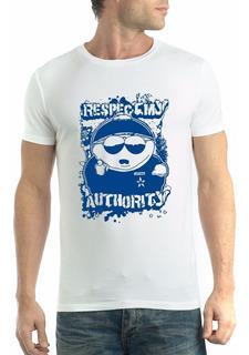 Camiseta South Park Eric Cartman Respect My Autorithy