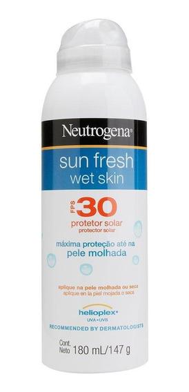 Protetor Solar Neutrogena Sun Fresh Wet Skin Aerosol Fps 30