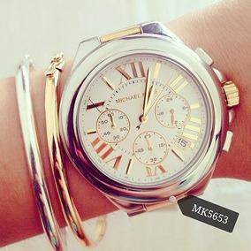 Relógio Feminino Mk5653 Prata Misto Camille - Michael Kors