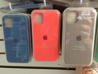 Funda De Silicon Premium iPhone 11 11 Pro 11 Pro Max X 8 7
