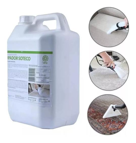 Detergente Limpador Para Extratora 5lt Sbn4171 Ipc Soteco