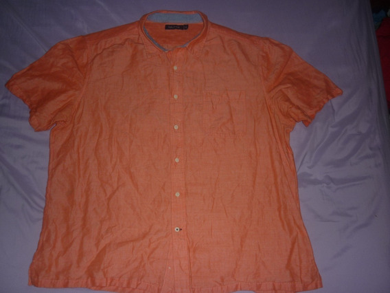 E Camisa Nautica Talle Xxl Naranja Art 95581