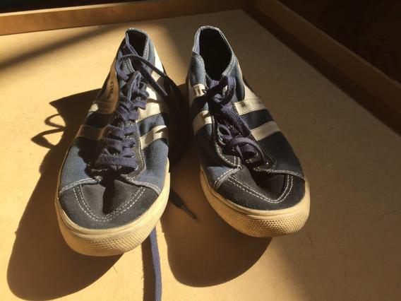 Zapatillas Gola Azules Talle 36 Como Nuevas