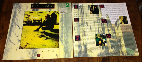 Sting Ten Summers Tales 1993 Disco Lp Vinilo Brasil