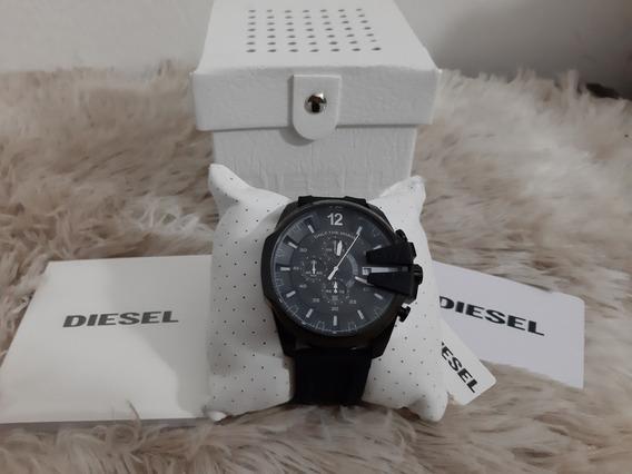 Relógio Diesel Com Pulseira De Silicone