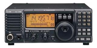 Radio Transceptor De Comunicação Profissional Icom Ic-718