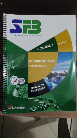 Spb - Volume 1: Química - (manual Do Professor)