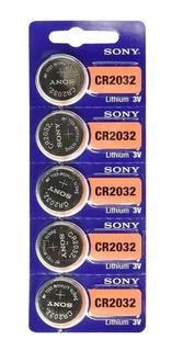 Pila Boton Sony Cr2032 Litio 3v X100 Unidades