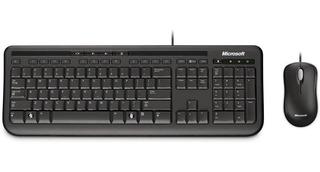 Kit Teclado Mouse Microsoft C/fio Wired Desktop 600 Usb