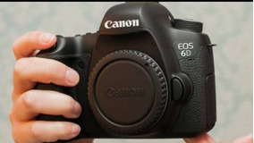 Câmera Canon 6d - Full Frame - Extra