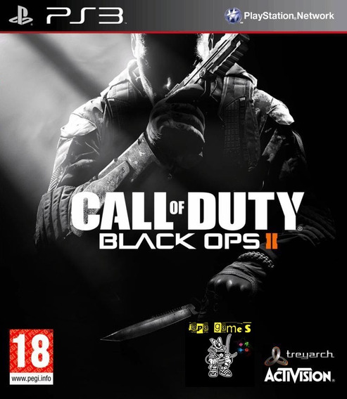 Call Of Duty Black Ops 2 Jogos Ps3 Psn Original Receba Hoje