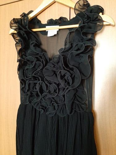 Imagen 1 de 3 de Vestido Casual Negro