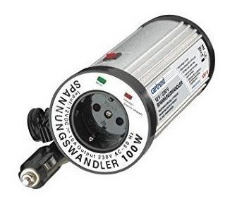 Inversor De Voltagem Automático Veicular 12v Para 220v 100w