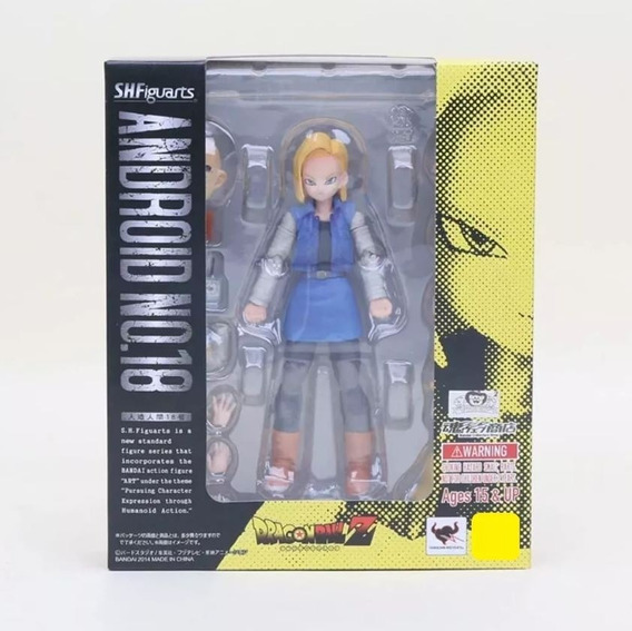 Dragon Ball Android 18 Action Figure Articulado Cod. 110