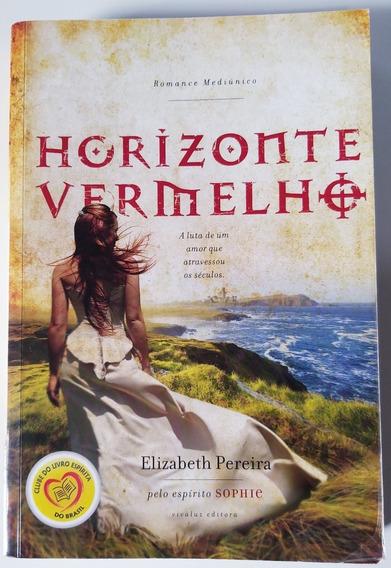 Livro - Horizonte Vermelho - Elizabeth Pereira - Usado