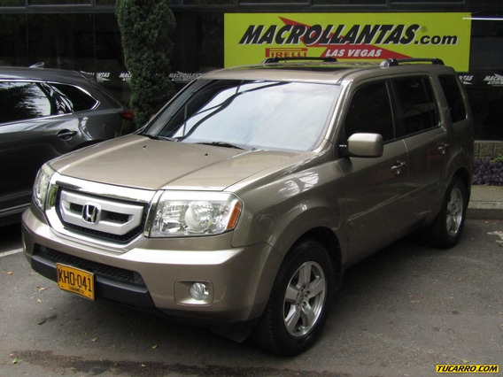 Honda Pilot Exl At 3500cc 4x4