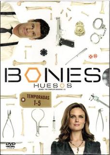 Bones, Huesos, Temporadas 1-5, Boxset Dvd