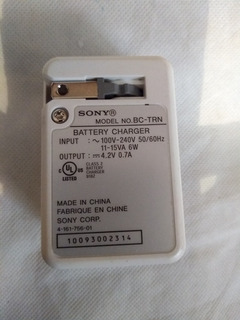 Cargador Sony Bc Trn