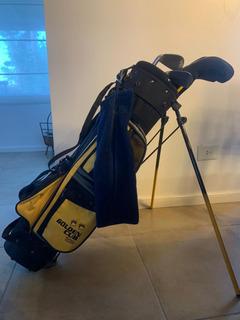 Bolsa Palos Golf Junior Chicos Golden Bear 220 Sin Envío