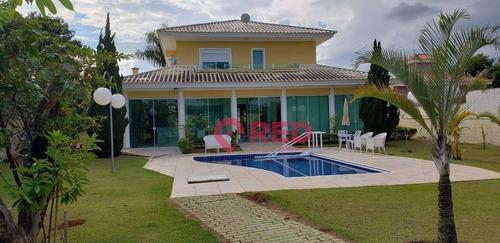 Imagem 1 de 26 de Casa Com 4 Dormitórios À Venda, 540 M² Por R$ 2.700.000,00 - Condomínio Aldeia Da Serrinha - Sorocaba/sp - Ca0531