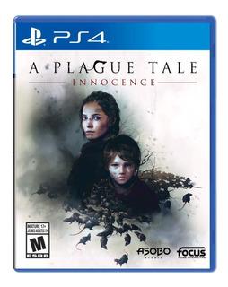 A Plague Tale Innocence Ps4 Nuevo Y Sellado 100% Original