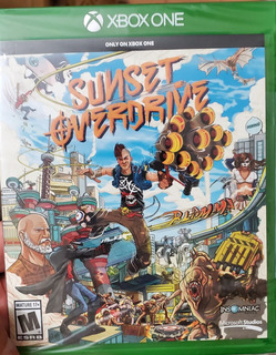 Sunse Overdrive Xbox One Sellado
