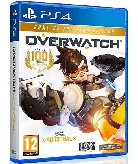 Jogo Overwatch Ps4 Midia Fisica Cd Original Novo Lacrado Dublado Português Promoção