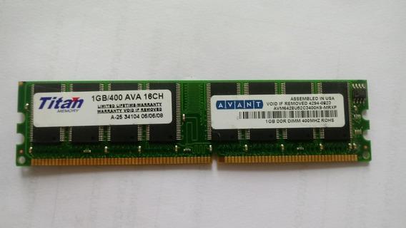 Memoria Ram Dimm 1gb Ddr400 Titan