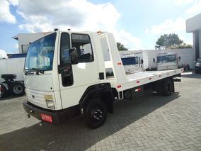 Ford Cargo 814, Caminhao 3/4 Equipado Com Plataforma