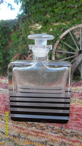 Antiguo Frasco Perfumero De Diseño ? Tocador