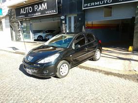Peugeot 207 Compact Xs Allure 2011 Negro Permuto Financio