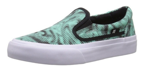 Tenis Slip On Original D.c. Tam 32,5 - Novo