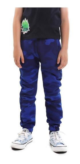 Pantalón Niño Tipo Jogger Camuflaje Lob
