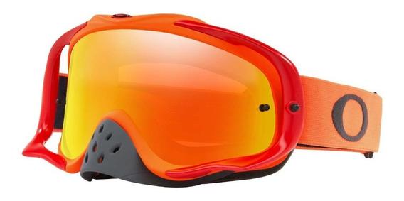 Antiparras Motocross Crowbar Mx Goggle Red Fire Iridium