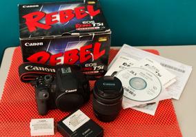 Kit Canon Eos Rebel T5i. Incluindo Corpo T5i, Lente 18-55