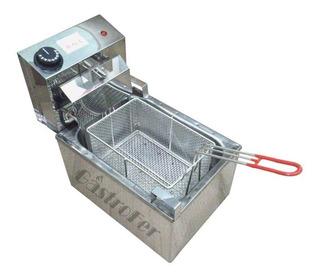 Freidora Electrica Roa 8 Lts Acero Automatica Gastronomica