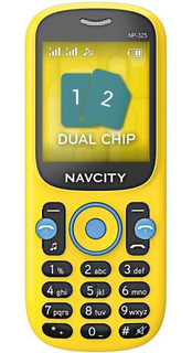 Celular Minions Amarelo Np325 Navcity 1 Semana De Uso