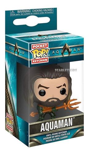 Llavero Pop Aquaman Funko Pocket Pop! Keychain Scarlet Kids