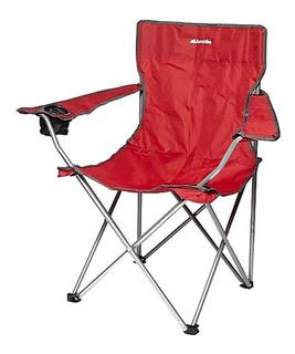 Silla Sillon Plegable Camping Playa Porta Vaso Modelo2