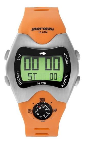 Relógio Mormaii Masculino Mo1324ab/1l Digital Bússola Retrõ