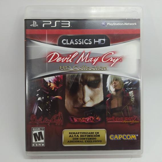 Devil May Cry Classic Hd Ps3 Mídia Física Usado Original F.