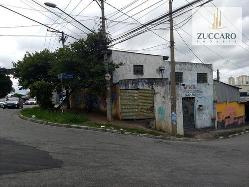 Salão Para Alugar, 360 M² Por R$ 3.900,00/mês - Vila Antonieta - Guarulhos/sp - Sl0696