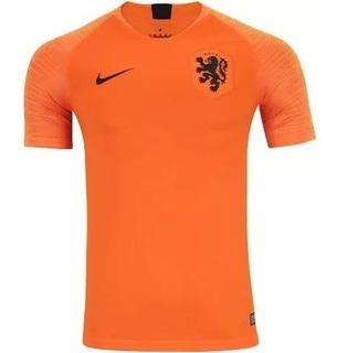 Camisa Holanda 2018-2019 Uniforme 1 Frete Grátis Promoção