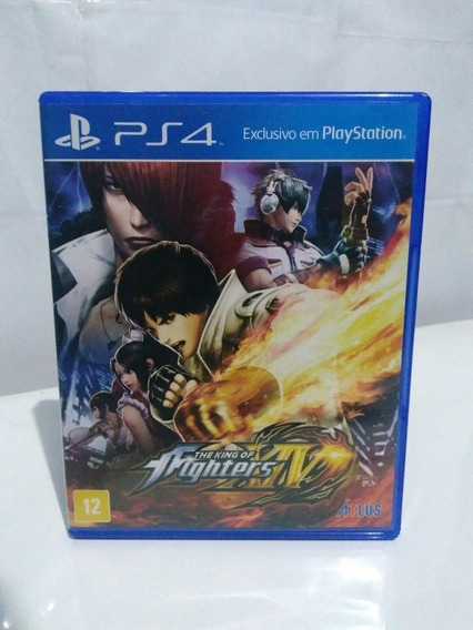 Jogo The The King Of Fighters 14 (xiv) Ps4 Míd. Física R$120