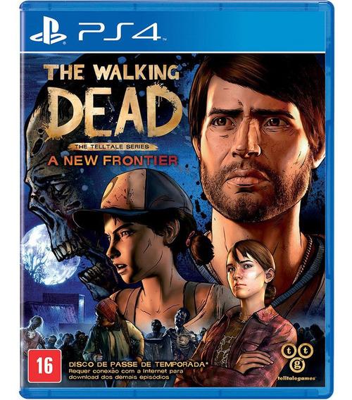 The Walking Dead A New Frontier Ps4 Midia Fisica Cd Promoção
