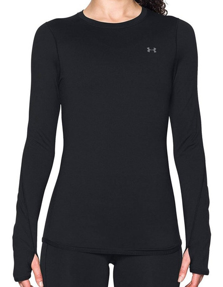 Remera Under Armour Training Ua Coldgear Mujer Ng